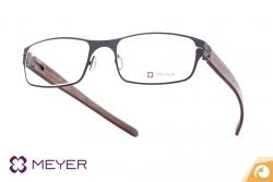 Meyer Eyewear Brille Modell SUNDERLAND mit Nussbaum Holzbügel | Offensichtlich Berlin