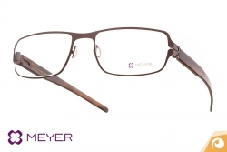 Meyer Eyewear Titanbrille Modell HAMPTONS mit Bügel aus Naturhorn | Offensichtlich Berlin