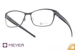 Meyer Eyewear Titanbrille Modell DERRY mit Bügel aus Naturhorn | Offensichtlich Berlin