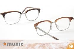 Munic Eyewear Brillen aus Titan und Acetat Materialmix | Offensichtlich Berlin