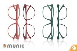 Munic Eyewear TwinStyle Brillen aus Acetat und Titan | Offensichtlich Berlin