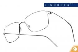 Lindberg Air Titanium Rim - Modell Nicholas in poliertem Dunkelgrau | Offensichtlich Berlin