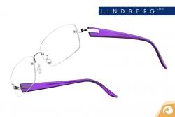 Lindberg Spirit - Bügelkombination T50 poliertes Silber und Lila Acetat | Offensichtlich Berlin