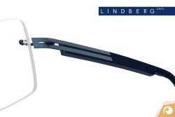Lindberg Spirit - Bügelkombination T503 mattem Blau und dunkelblauem Acetat | Offensichtlich Berlin