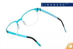 Lindberg Strip Nylor – Modell 7404 in freundlichem Türkisblau | Offensichtlich Berlin