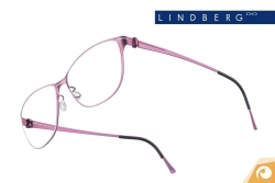 Lindberg Strip – Modell 9553 raffiniertes Design in rosigem Titan | Offensichtlich Berlin