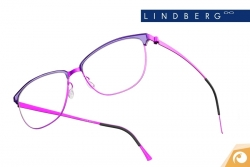 Lindberg Strip – Materialkombination in knalligem Magenta - Modell 9804 | Offensichtlich Berlin