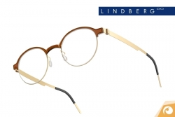 Lindberg Strip – Modell 9807 - klassische Farbkombination von Braun und Gold | Offensichtlich Berlin