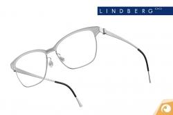 Lindberg Strip – Modell 9805 Materialkombination aus hellgrauem Titan ud Acetat | Offensichtlich Berlin