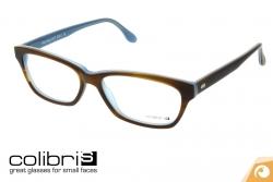 Colibris Kunststoffbrille Helga in 70 braun azurblau | Offensichtlich Berlin