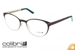 Colibris Titanbrille Lia 2.5 bordeaux creme | Offensichtlich Berlin