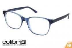 Colibris Kunststoffbrille Ida in 146 blaugrau transparent | Offensichtlich Berlin