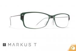 Titanbrille Markus T me2 239 in einem kräftigen Grün mit feinem Titanbügel| Offensichtlich Berlin