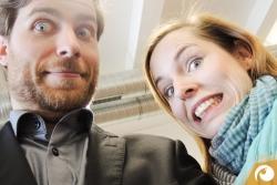 Die Aufregung steigt - gleich geht es los für Lydia & Torsten  | Optometrie15 VDCO