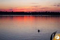 Tauchmasken Test 2015 - Der Kulkwitzer See von seiner romantischen Seite