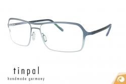 Tinpal Brillenfassung aus Edelstahl für Herren Modell VR11 mit Farbverlauf | Offensichtlich-Berlin