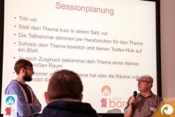 Wie biete ich eine Session an? Wie entsteht die Dynamik des Barcamps? | Offensichtlich Berlin