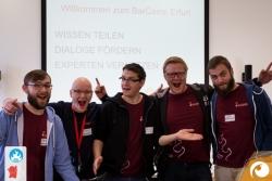 Das Orga-Team des Barcamps  Peter, Martin, Sebastian, Robert und Sascha | Offensichtlich Berlin
