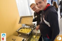 Das Faust-Food Erfurt spendiert das großartige Essen für die Teilnehmer | Offensichtlich Berlin