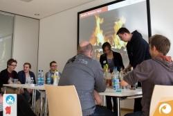 Bereits ein Institution beim Barcamp ist die Cocktail-Mix-Session | Offensichtlich Berlin