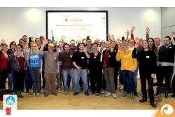 Finales Gruppenfoto vom Barcamp 2014! Schön wars! | Offensichtlich Berlin