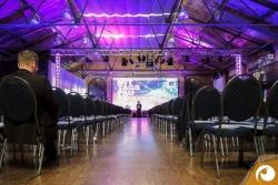 Das Auditorium zur Mittagspause | Offensichtlich Berlin