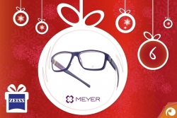 Hinter Türchen Nr.6 gibt es Meyer Eyewear SLS Brillen mit 20% Rabatt + Aktion Zeiss DriveSafe | Offensichtlich Adventskalender