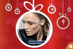 Lindberg Brillen hinter Türchen Nr. 9 mit 15% Rabatt im Offensichtlich Adventskalender