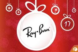 Hinter dem 17. Türchen gibt es heute Ray Ban mit 20% Rabatt | Offensichtlich Adventskalender