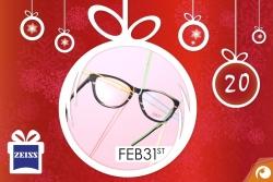 Holzbrillen von Feb31st sind heute zum 4. Advent hinter dem 20. Türchen mit 15% Rabatt | Offensichtlich Adventskalender