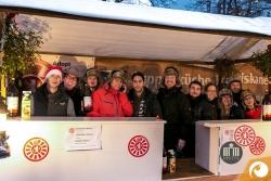 Round Table 44 und Ladies Circle 5 gemeinsam für den guten Zweck auf dem Rixdorfer Weihnachtsmarkt