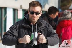 Norman versucht es mit dem erwärmen der Eisen | Bügelseisen Curling