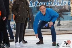 Immer das Ziel im Blick  | Bügelseisen Curling / Round Table 44 Berlin