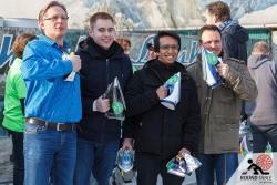 Mit Spaß und Stolz am Spielgerät | Bügelseisen Curling / Round Table 44 Berlin