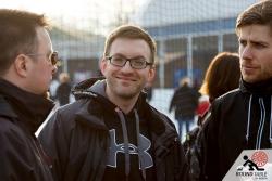 Der Außenseiter vergnügt in der Halbzeit | Team Eyesbären  | Bügelseisen Curling