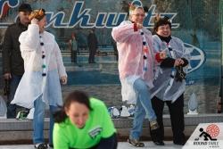 Mit viel Spaß dabei die PowerPuff Girls | Bügelseisen Curling / Round Table 44 Berlin