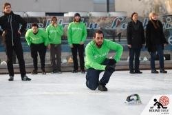 Team Zip Jet ist am Zug –mit Bügeln kennt man sich aus | Bügelseisen Curling