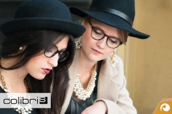 Colibris Kunststoffbrille Modell Rosa und Ida aus der 2016er Kollektion | Offensichtlich Berlin