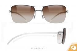 Die  Sonnenbrillen der D3 Kollektion von Markus T. sind nur 3,7 g leicht | Offensichtlich Berlin