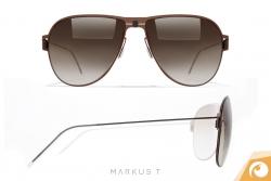 Markus T. Me2 - schicke Sonnenbrille aus hochwertigem Titan | Offensichtlich Berlin
