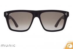 Gläser mit Verlaufstönung lockern die Sonnenbrille von Munic Mod. 5 c15 auf | Offensichtlich Berlin