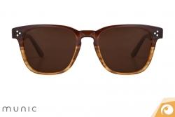 Sonnenbrille Mod. 9 c.417 von Munic in zeitlosem Design mit Farbverlauf | Offensichtlich Berlin