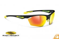 Rudy Project - Stratofly -matte-black-multilaser-orange Sportbrille Fahrradbrille | Offensichtlich Optiker Berlin