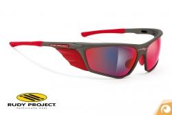 Rudy Project - Zyon - graphite-multilaser-red Sportbrille Fahrradbrille | Offensichtlich Optiker Berlin