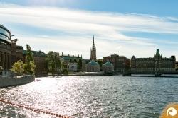 Stockholm Riddarholmskyrkan Ursprung von Stockholm