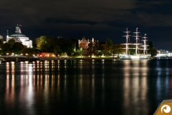 Stockholm View Toskeppsholmen Night