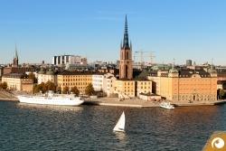 Stockholm Riddarholmen Insel nahe der Altstadt
