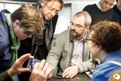 Workshop zur neuen randlosen Brillen mit Sven Götti | Offensichtlich Berlin