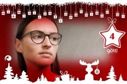 Brillen Götti Switzerland Offensichtlich Adventskalender-2017 Rabatt