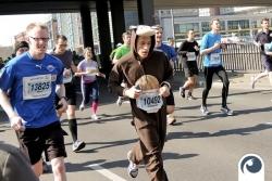 Monkey ;) Mit Spaß dabei | 34. Berliner Halbmarathon